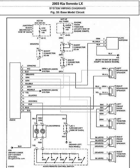 stereo wiring diagram for 2001 kia sportage choice image