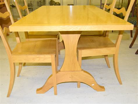 Beech Kitchen Table Beech Kitchen Table And 4 Chairs