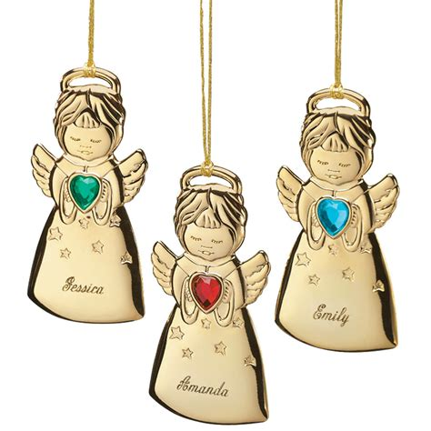 personalized angel christmas ornament angel ornament