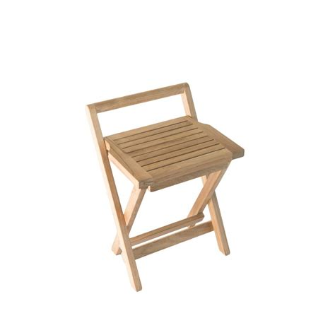 Bathroom Chairs Furniture Moen Fold Teak Shower Chair Dn7110 The Home Depot