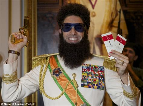 Sacha Baron Cohen Nominated For Kazakh Award by Sacha Baron Cohen Will Attend Oscars 2012 Actor Asked To