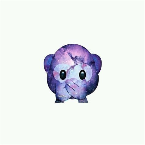 emoji wallpaper galaxy hear no evil monkey emoji image 2714858 by miss dior on