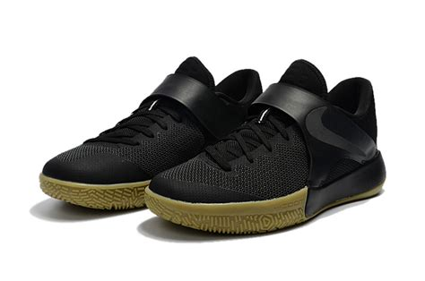 nike casual basketball shoes humanized nike zoom live 2017 ep black gum 852420 011