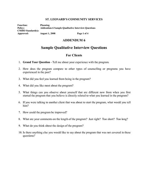 qualitative research guide template best photos of sle guide template tell me