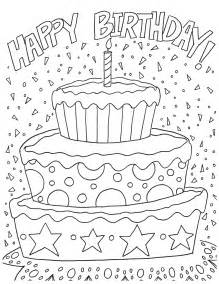 happy birthday coloring page free happy birthday coloring page and hershey