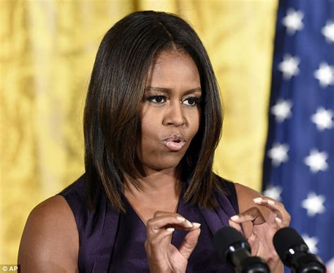 michelle obama extensions quot if michelle obama had natural hair barack would never