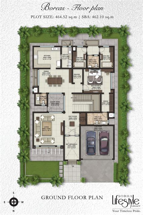 villa floor plans india villa floor plans in india