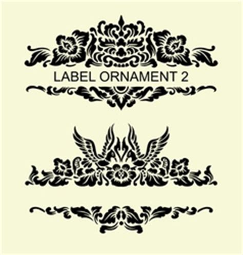 balinese ornament vector images
