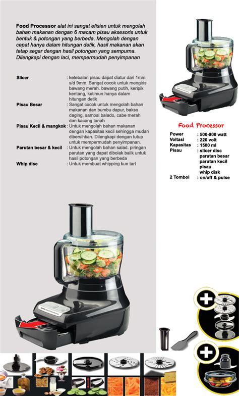 Food Processor Signora rekomendasikan produk ini