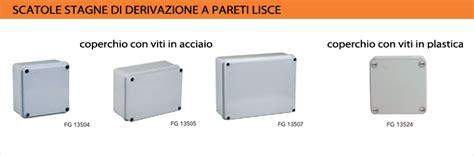 cassette elettriche esterne scatole di derivazione dimensioni montare motore elettrico