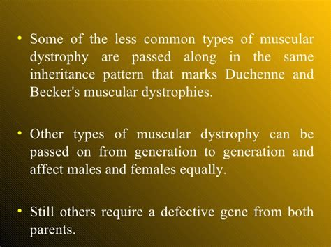 myotonic dystrophy pattern of inheritance muscular dystrophy ppt