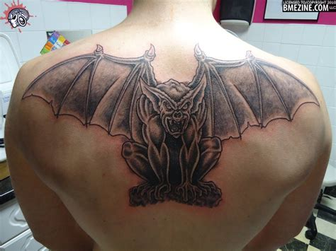 attractive tattoos for men gargoyle tattoos page 5