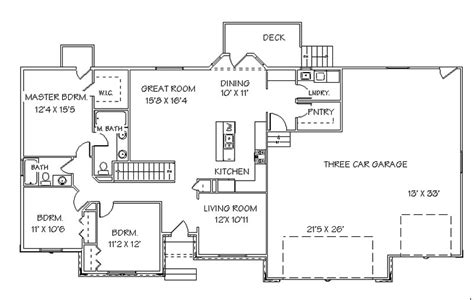 ranch homeplans walk out basement 171 unique house plans