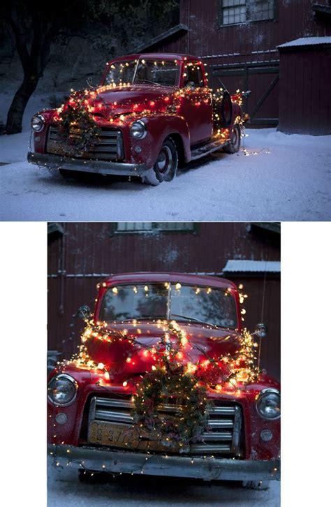 rocks  truck decod  christmas christmas red truck