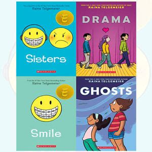 the the smile books raina telgemeier collection 4 books set drama