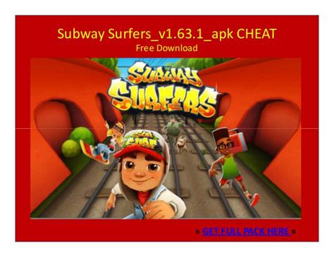 subway surfers cheats apk subway surfers v1 63 1 apk free joomag newsstand