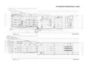 St Pancras Floor Plan St Pancras International Station Openbuildings