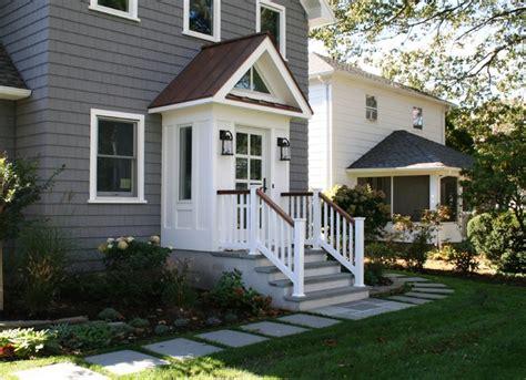 front door vestibule slomin residence vestibule addition transitional