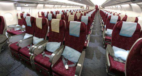 Qatar Airways Interior by Economy A340 600 Qatar Airways Seat Maps Reviews