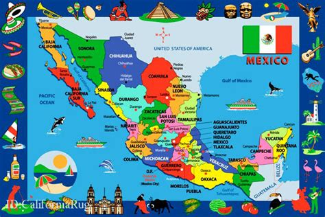 map of mexico printable chicken a la veracruzana of the always