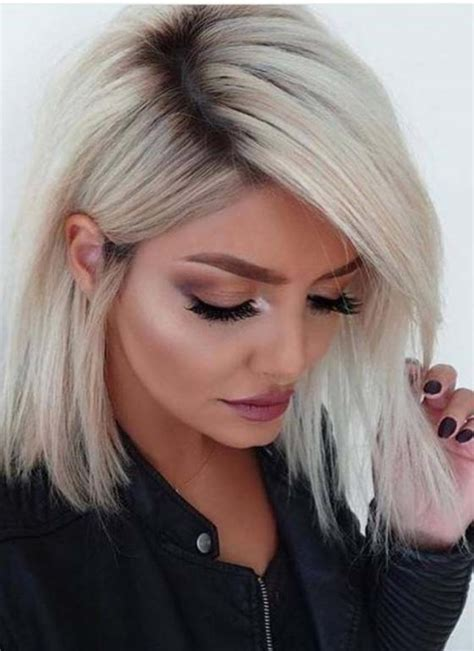 blonde ombre chin length hair chin length haircuts 2017 haircuts models ideas