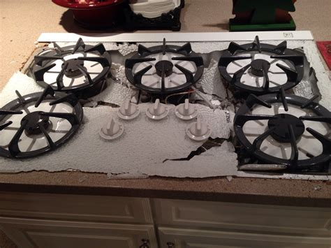 Hob Cooktop Was Cooking Dinner When My Stove Top Randomly Exploded