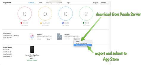 xcode bots tutorial xcode server tutorials 4 certificates provisioning