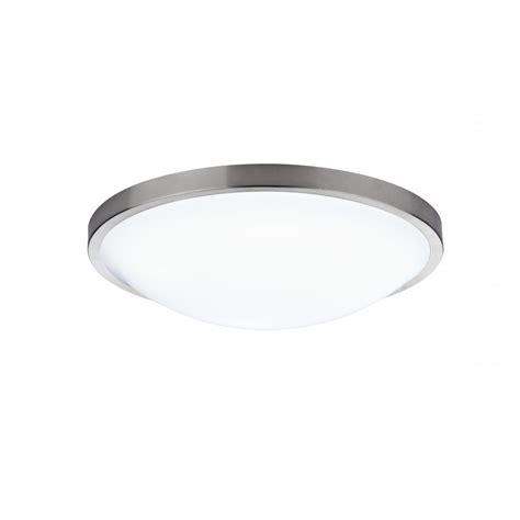 dover dov5246 acrylic flush ceiling light ip44 satin