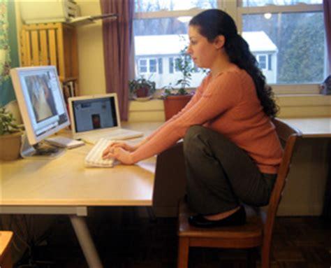 Squatting Desk by Work It Chair Squat Popsugar Fitness