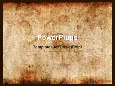 powerpoint template vintage background of old paper with
