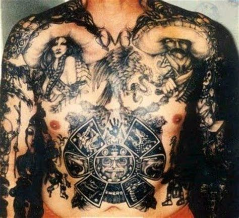 mexican prison tattoos mexican mafia stylo gangs cholos tattoos