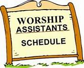 Image result for worship asssitants