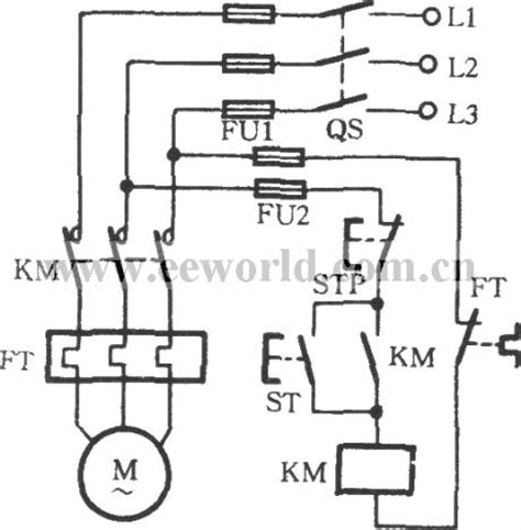 thermal relay protection circuit circuit diagram
