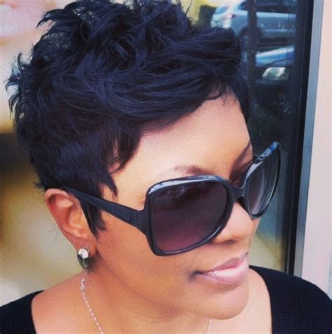 Short Black Hairstyle for Summer   Hairstyles Weekly