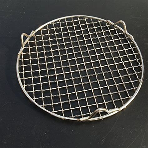 Circular Grill Rack by Chris Wang 1pack Multi Purpose Stainless Steel Cross Wire Steaming Cooling Barbecue Rack