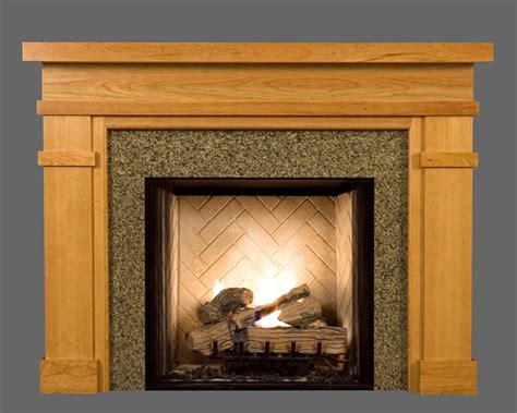 Wood Fireplace Mantels by Wood Fireplace Mantel Surrounds Bridgeport American Series