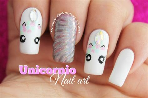 imagenes de uñas decoradas grises decoracion de u 241 as unicornio u 241 as lindas pinterest