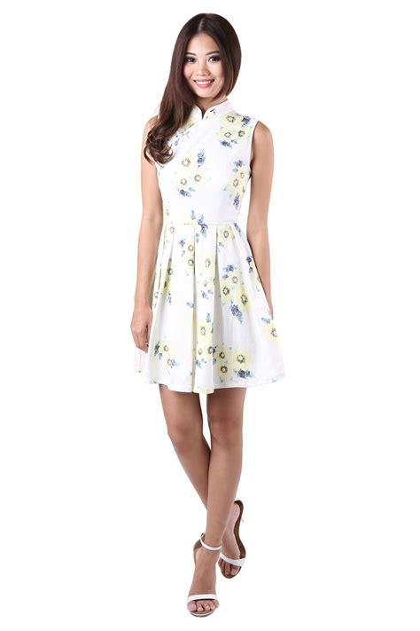 Cheongsam Dress White cheongsam in white mgp
