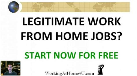 legitimate work from home make money product