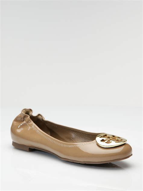 Trend Report Burch Reva Flats Are Going To Be This Second City Style Fashion by Burch Reva Ballet Flats In Beige Sand Lyst