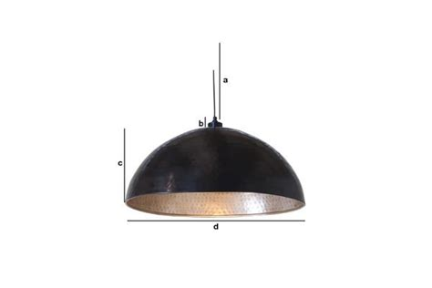 komais metal ceiling light large 60cm suspended lighting