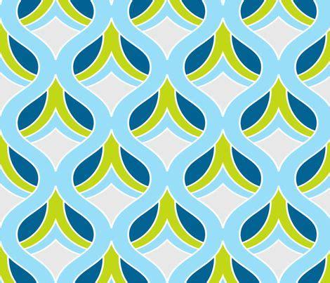 Retro Fabric by Dijon Retro Fabric Print Kippygo