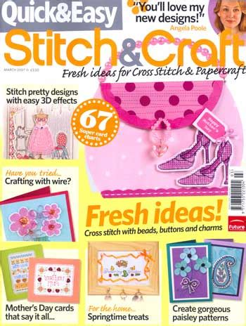 Stitch And Craft 2007 by Easy Stitch Craft March 2007 From Cross Stitching