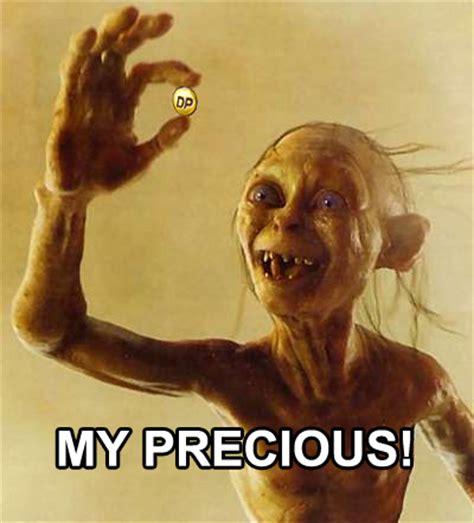 my precious yugioh meme whenever i got dp i felt like gollum my