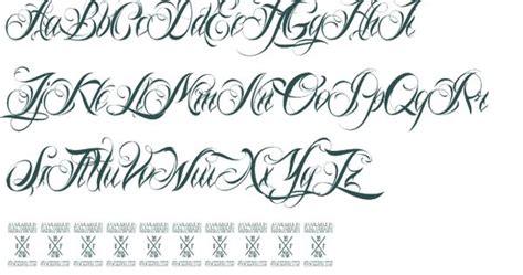 Tattoo Fonts No Download   tattoo lettering nina script font download free