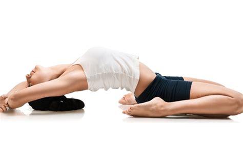 Yoga For Pelvic Floor by Reclining Hero Pose Or Supta Virasana Yoga For Knee Pain