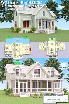 house plans with big back porches nellie creek cottage