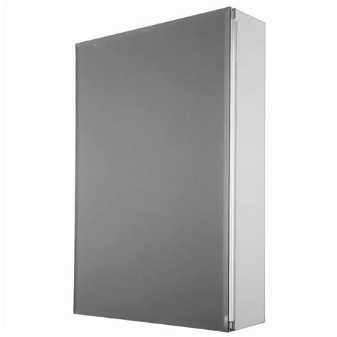 15 recessed medicine cabinet glacier bay 15 in x 26 in decor recessed or surface