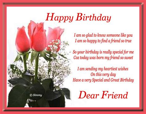 Happy Birthday Dear Friend Quotes Happy Birthday Dear Friend Quotes Quotesgram