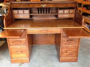 roll top desk oak winners only inc north saanich